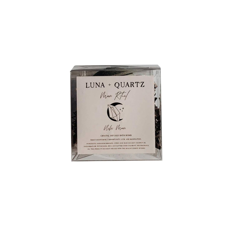 LUNA + QUARTZ Bath Bomb Moon Ritual