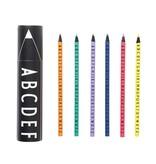 DESIGN LETTERS Color Pencil Set
