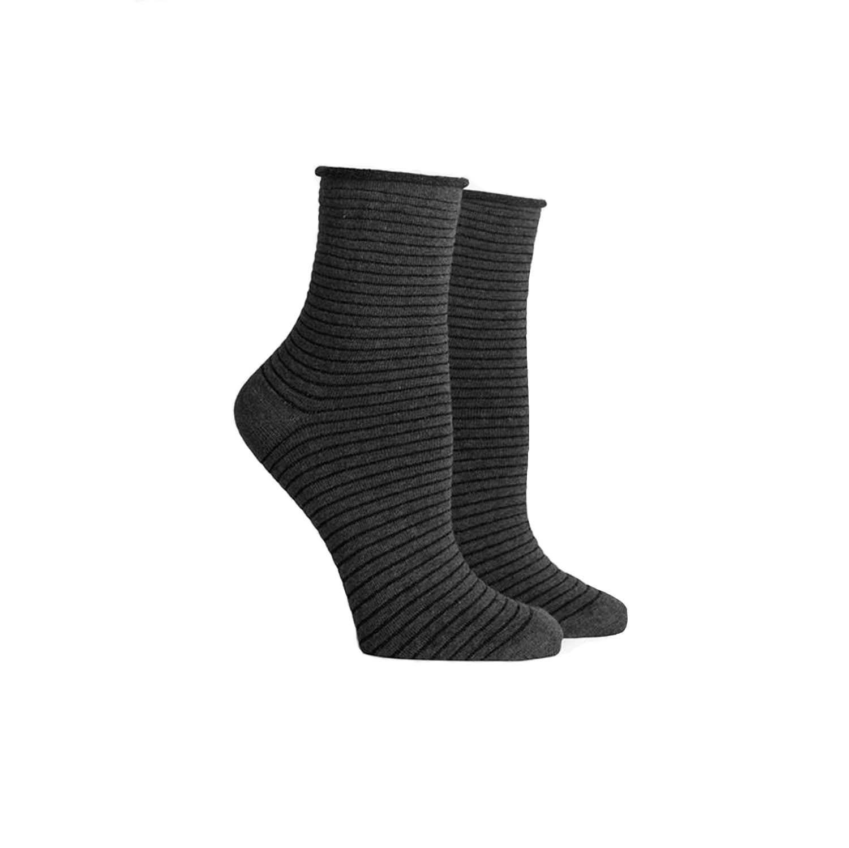 RICHER POORER Metallic Stripe Socks