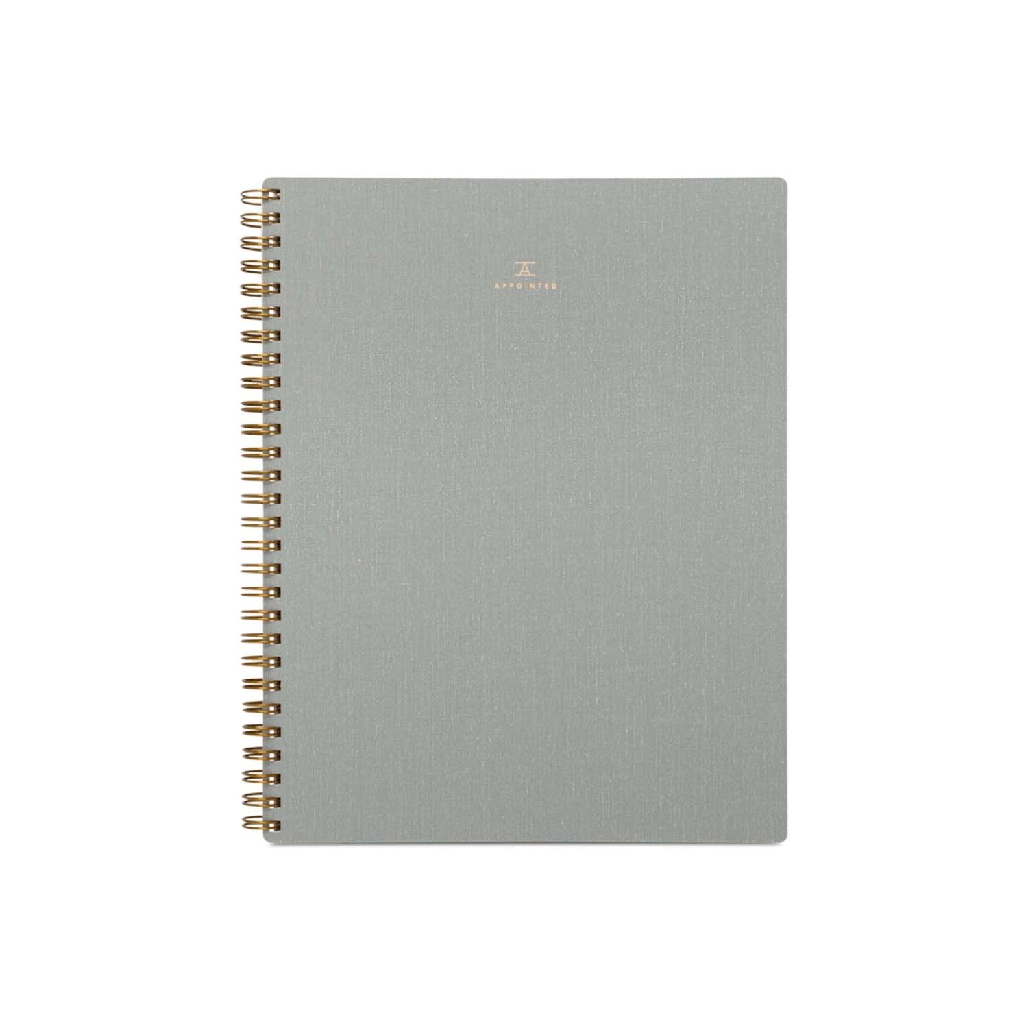 APPOINTED Cloth Spiral Notebook