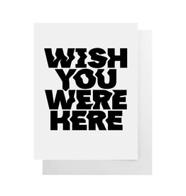 CULT PAPER Wish You Were Here Card