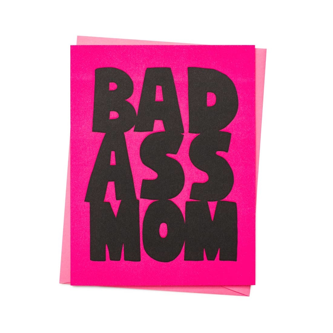 ASHKAHN & CO Bad Ass Mom Card