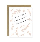 WORTHWHILE PAPER Wonderful Mother Card
