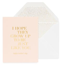 SUGAR PAPER Just Like You Mother's Day Card