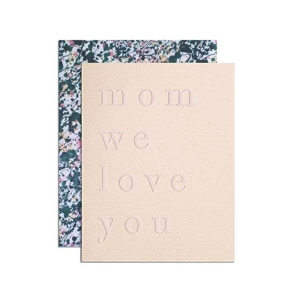 MOGLEA Mom We Love You Card