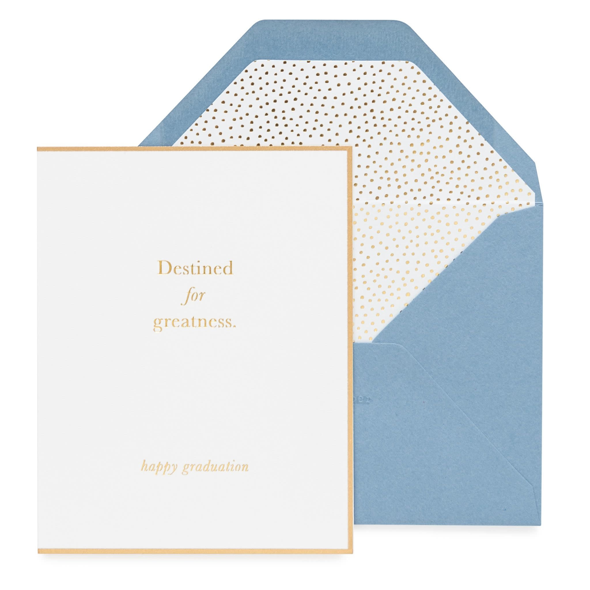 SUGAR PAPER Destined For Greatness Card