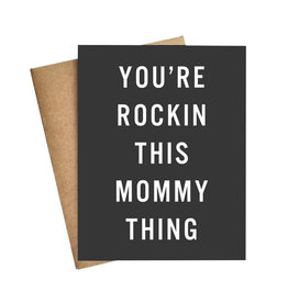 LIVE LOVE LAUGH Rockin Mommy Thing Card