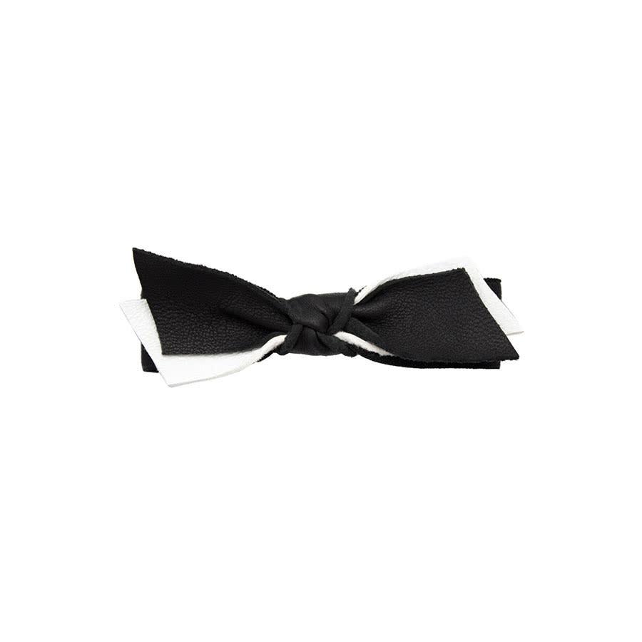 EMIJAY Leather Bow Hair Tie