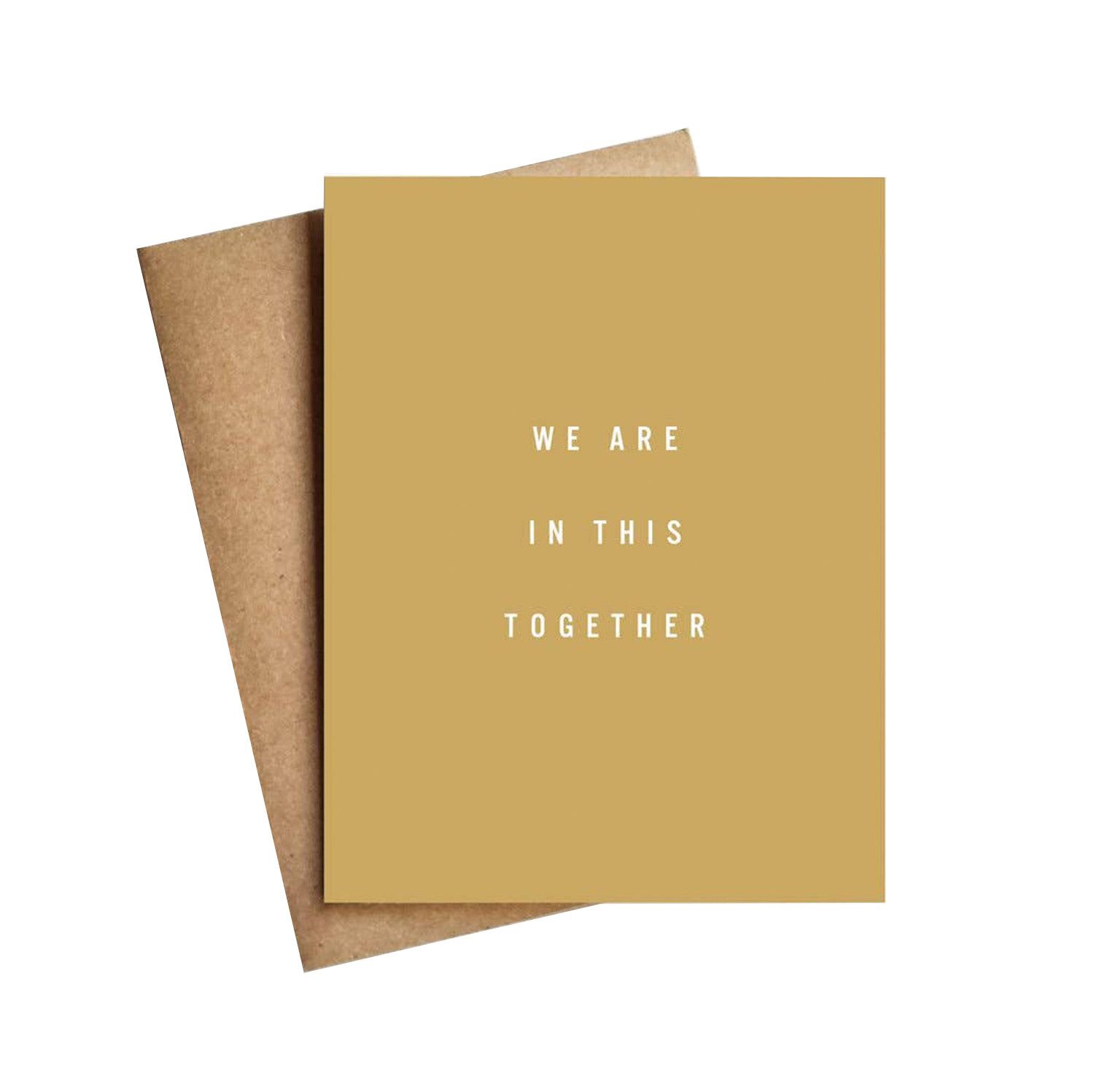 LIVE LOVE LAUGH We Are In This Together Card
