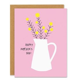 BADGER & BURKE Happy Mother's Day Yellow Flowers Card