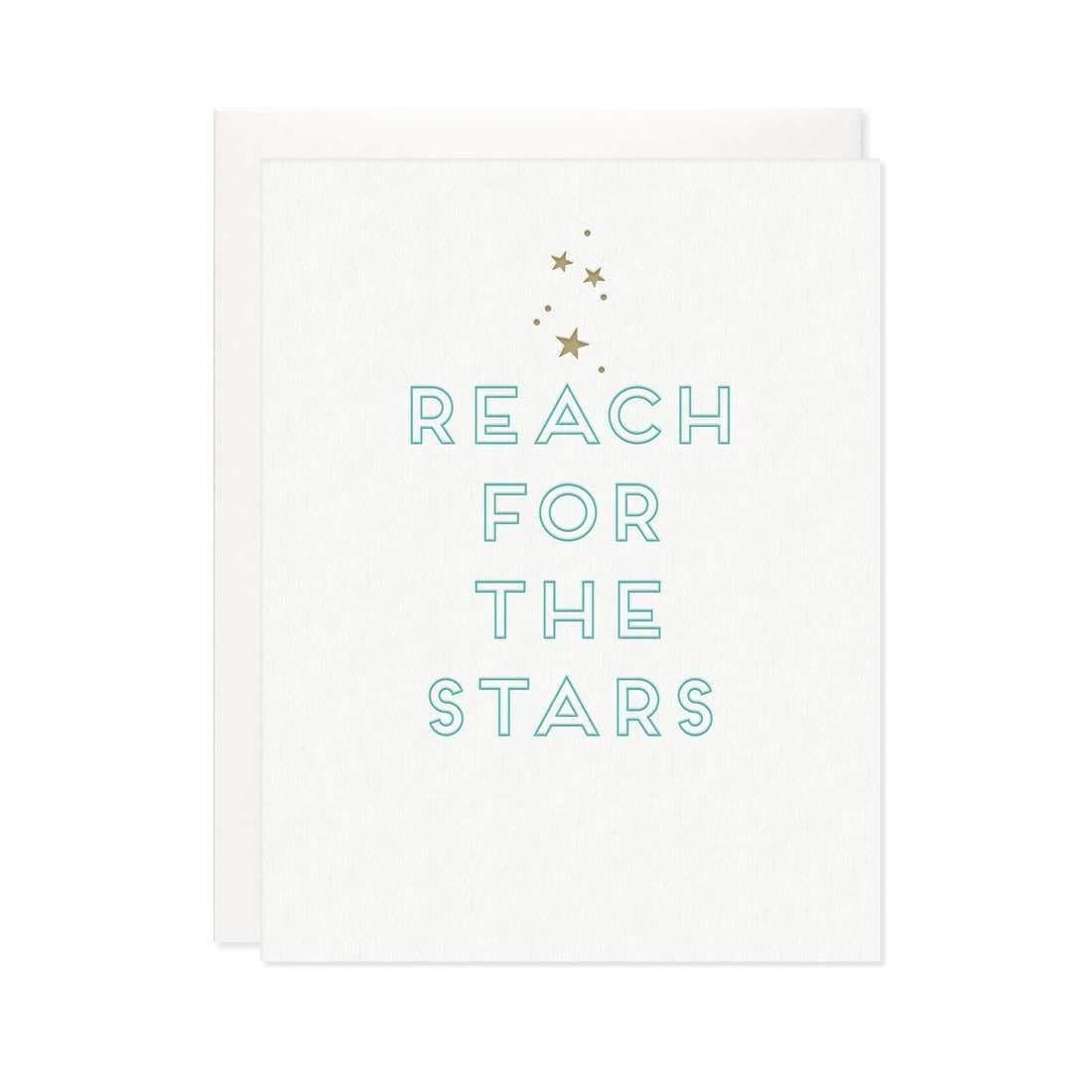 MISSIVE Reach For The Stars Card