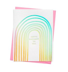 ASHKAHN & CO Happy Birthday To You Card