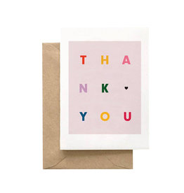 SPAGHETTI & MEATBALLS Thank You Multicolor Card Set