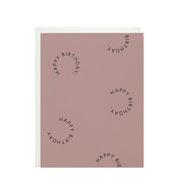 RAMONA & RUTH Happy Birthday Rounds Card