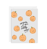 INCLOSED LETTERPRESS CO Congrats Little Cutie Card