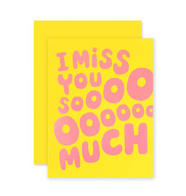 THE SOCIAL TYPE Miss You Sooo Much Card