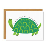 BADGER & BURKE Happy Birthday Turtle Card