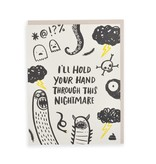 HELLO LUCKY Hold Your Hand Card