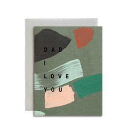 MOGLEA Dad I Love You Card