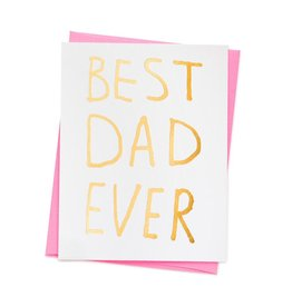 ASHKAHN & CO Best Dad Ever Card