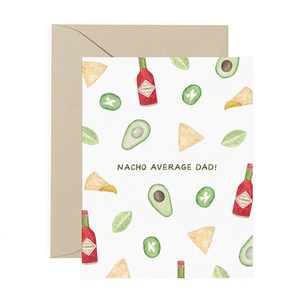 AMY ZHANG Nacho Average Dad Card