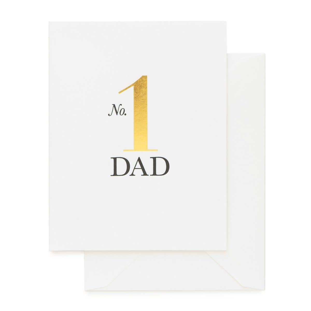 SUGAR PAPER No. 1 Dad Gold Card