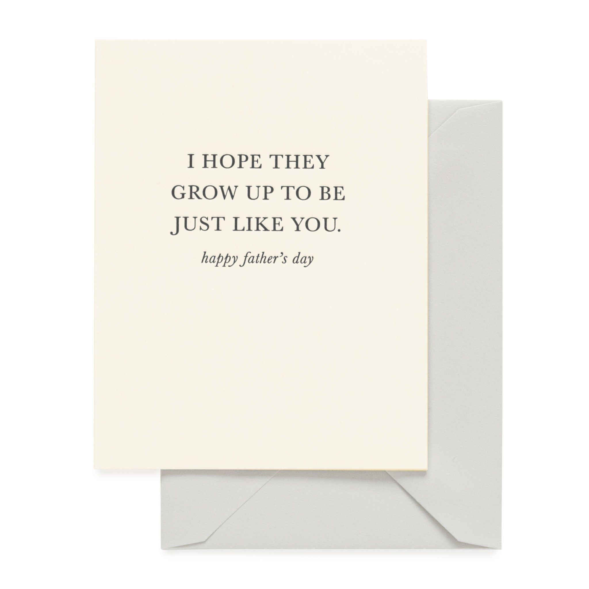 SUGAR PAPER Just Like You Father's Day Card