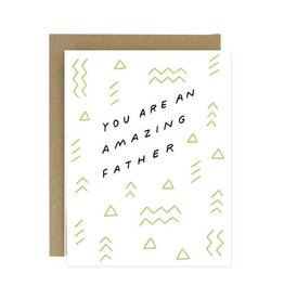 WORTHWHILE PAPER Amazing Father Card