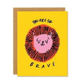 BADGER & BURKE So Brave Card