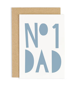 OLD ENGLISH No. 1 Dad Blue Card