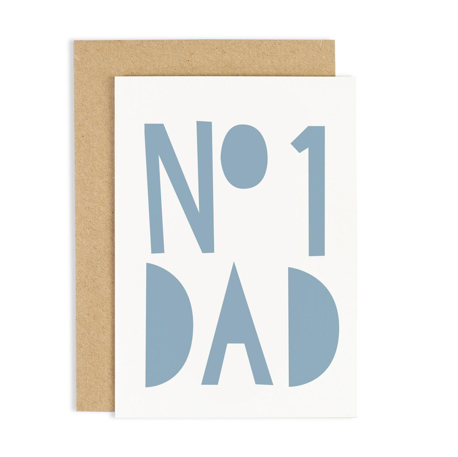OLD ENGLISH No. 1 Dad Blue Card