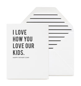 SUGAR PAPER Love Our Kids Father's Day Card