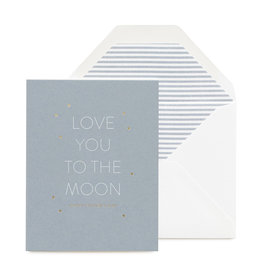 SUGAR PAPER To The Moon Father's Day Card