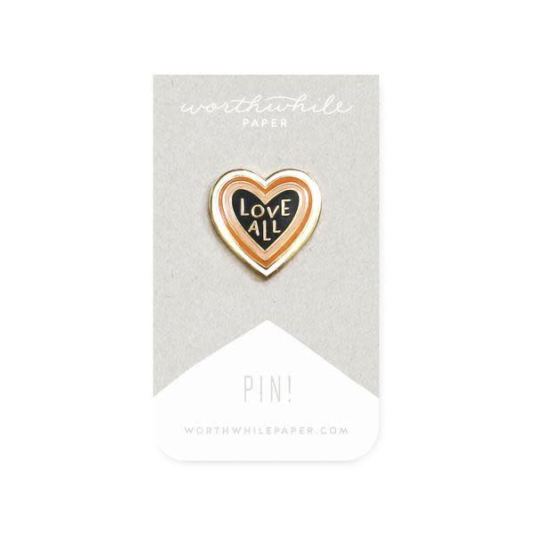 WORTHWHILE PAPER Enamel Pin