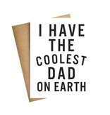 LIVE LOVE LAUGH Coolest Dad on Earth Card