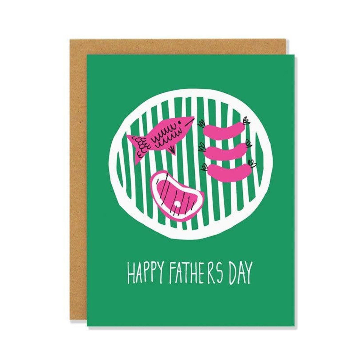 BADGER & BURKE Father's Day BBQ Card