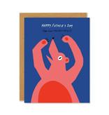 BADGER & BURKE Bear Hug Father's Day Card