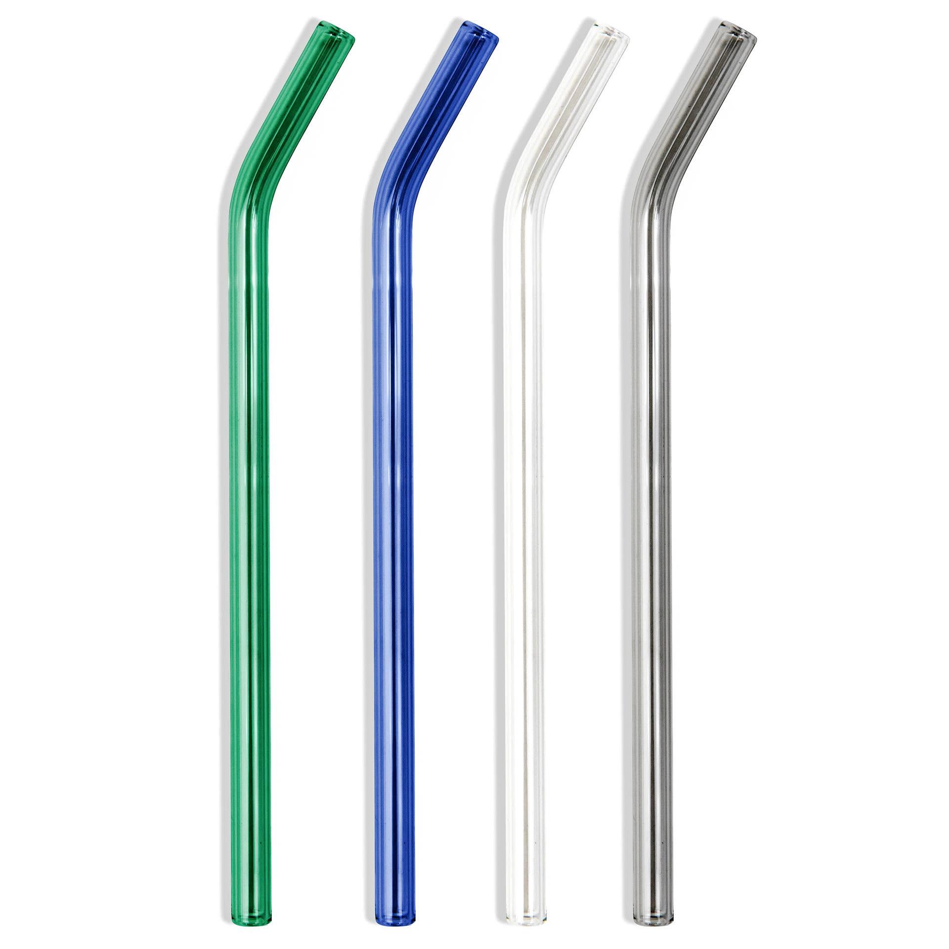 POKETO Glass Straw Set