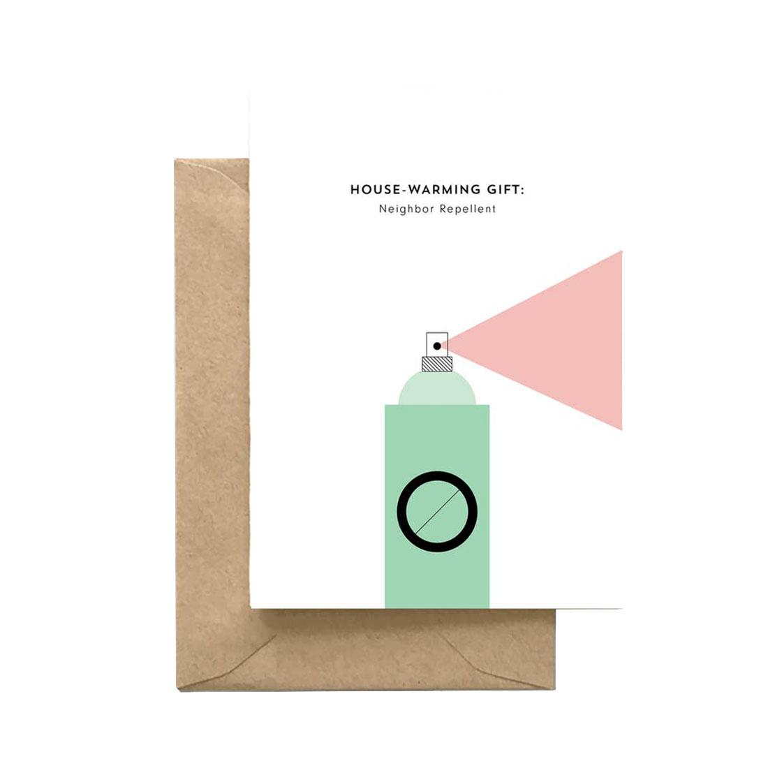 SPAGHETTI & MEATBALLS Neighbor Repellent Card