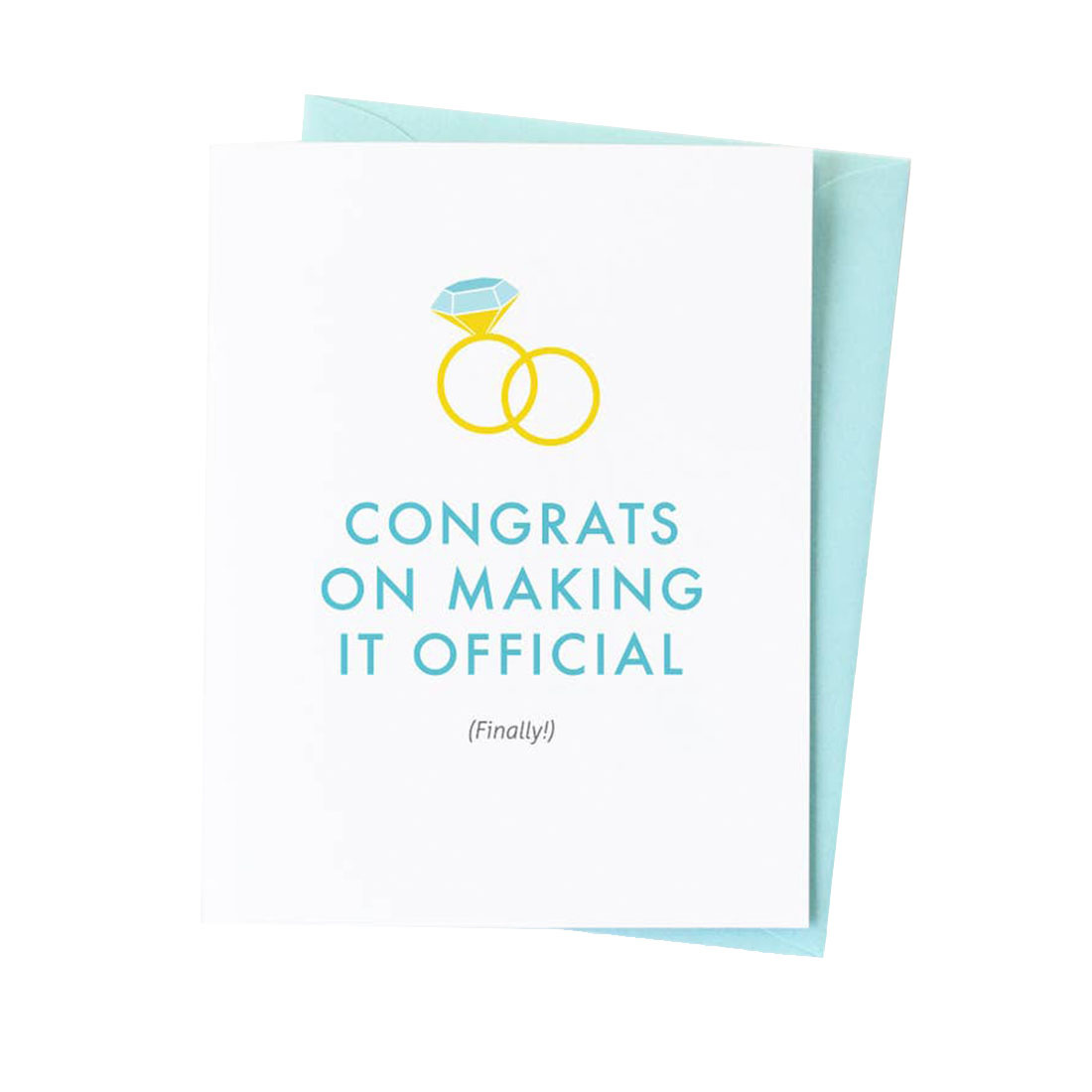 GRAPHIC ANTHOLOGY Congrats Finally Official Card