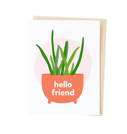 GRAPHIC ANTHOLOGY Hello Friend Card