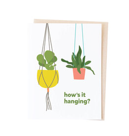 GRAPHIC ANTHOLOGY How's It Hanging Card