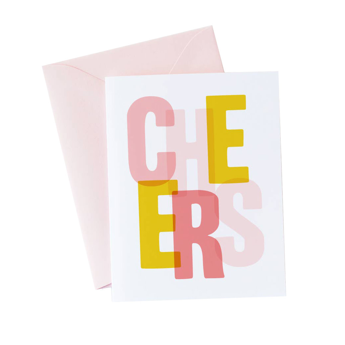 GRAPHIC ANTHOLOGY Cheers Card