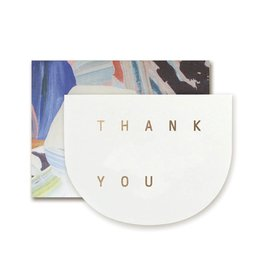 MOGLEA Thank You Round Card