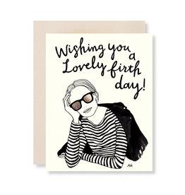 AKR DESIGN Lovely Birthday Card