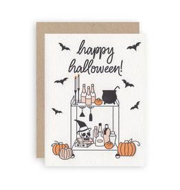 KB PAPERIE Halloween Bar Cart Card