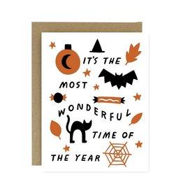 WORTHWHILE PAPER Wonderful Halloween Card