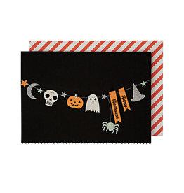 MERI MERI Halloween Garland Card
