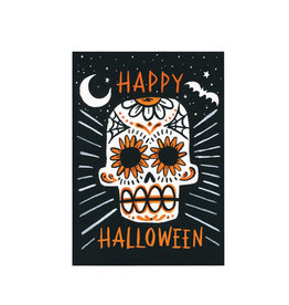 IDLEWILD CO Halloween Sugar Skull Card