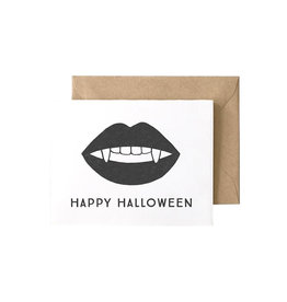 HELLO PAPER CO Halloween Vampire Card